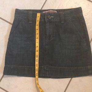 Gap denim jean skirt